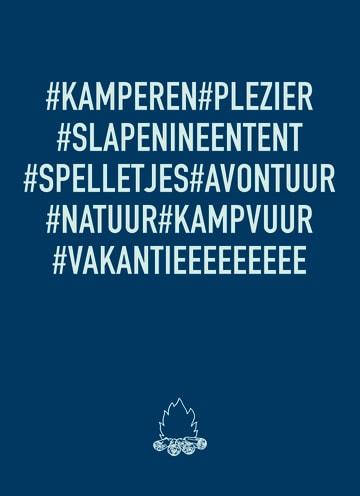 - op-kamp-kaart-met-hashtag-kamperen-hashtag-plezier