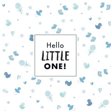 - blauwe-kaart-hello-little-one-met-badeend-sokjes-en-een-speen