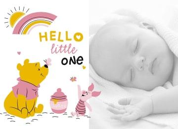 - fotokaart-hello-little-one-winnie-en-knorretje