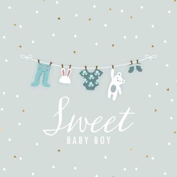 - geboorte-zoon-sweet-baby-boy