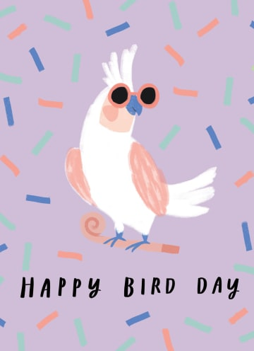 - Zomer-kaart-Happy-bird-day