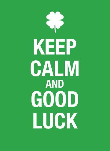- Keep-calm-and-good-luck