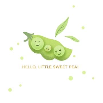 - geboorte-hello-little-sweet-pea