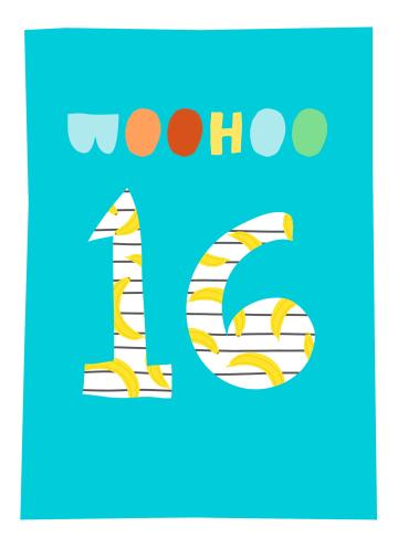- Verjaardagskaart-woohoo-16-tiener-jongen