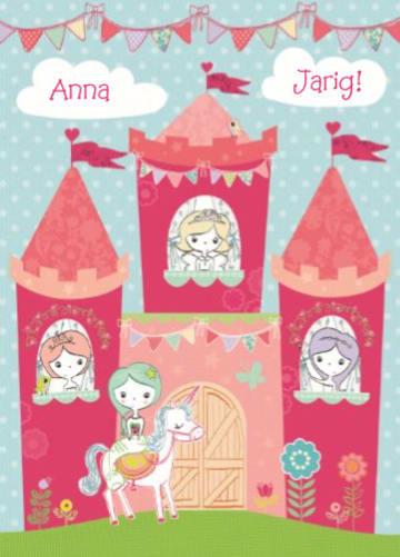 - verjaardagskaart-roze-kasteel
