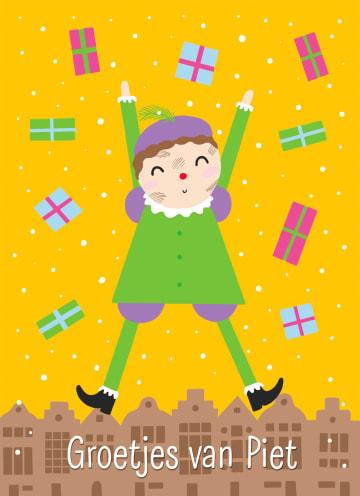 - Sinterklaaskaart-Groetjes-van-Piet