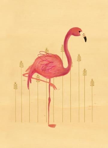 - houten-kaart-flamingo