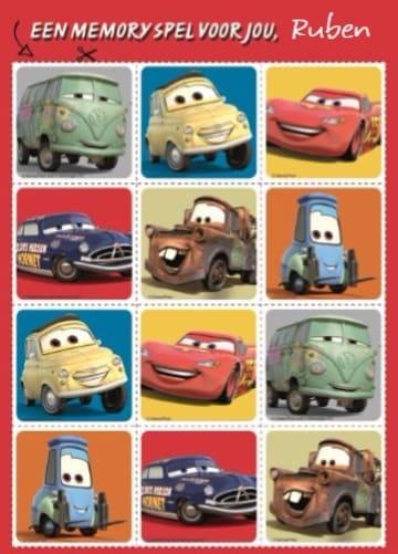 - disney-cars-een-memory-voor-jou