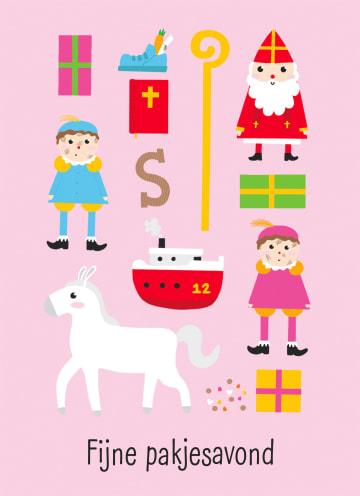 - Sinterklaaskaart-getekend-Fijne-pakjesavond