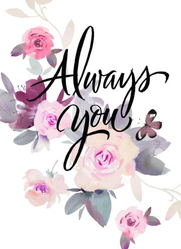 - always-you