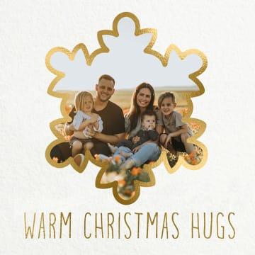 - kerstkaart-fotokaart-warm-christmas-hugs