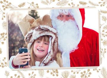 - kerstman-fotokaart