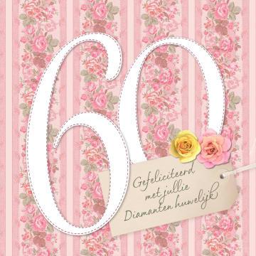 - bloementjesbehang-diamanten-huwelijk