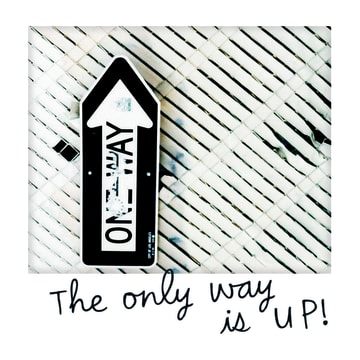 - polaroid-kaart-the-only-way-is-up