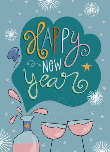- Nieuwjaarskaart-Happy-new-year-Funny-side-up