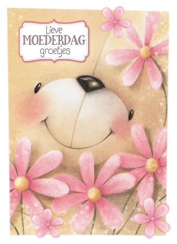 - forever-friends-beer-geeft-de-allerliefste-moederdag-groetjes-met-bloemen