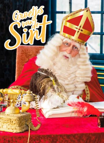 - Sinterklaaskaart-Groetjes-van-Sint