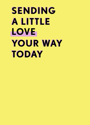 - Sterktekaart-Sending-a-little-love-your-way-today