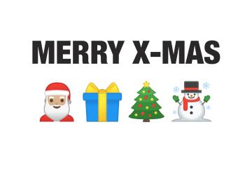 - kerstkaart-grappig-emojis-merry-x-mas