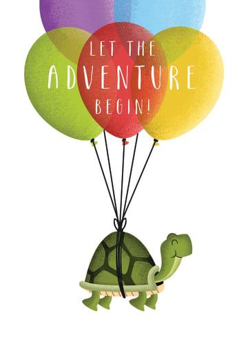 - schildpad-aan-ballonnen