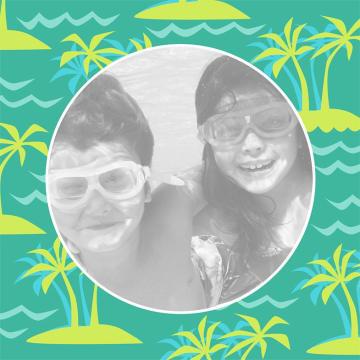 - palmbomen-fotokaart