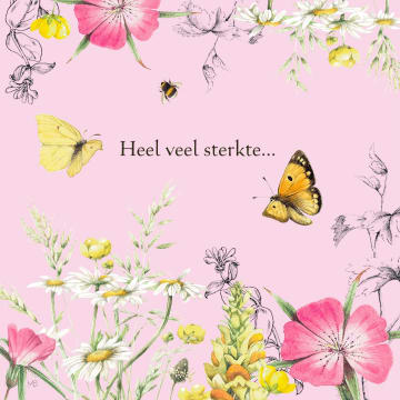 - Kaart-flowers-by-Marjolein-Bastin-Heel-veel-sterkte