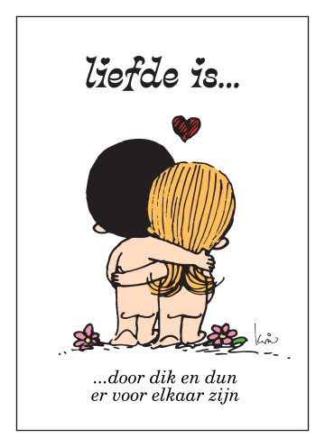- liefde-is-kaart-door-dik-en-dun-er-voor-elkaar-zijn