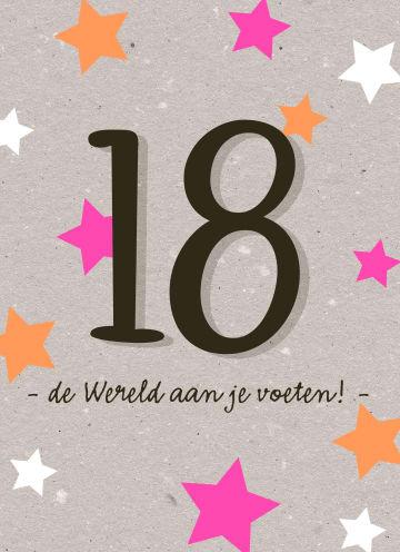 - Verjaardagskaart-18-de-wereld-aan-je-voeten-meisje-vrouw