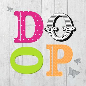 - letters-doop-met-vlinders