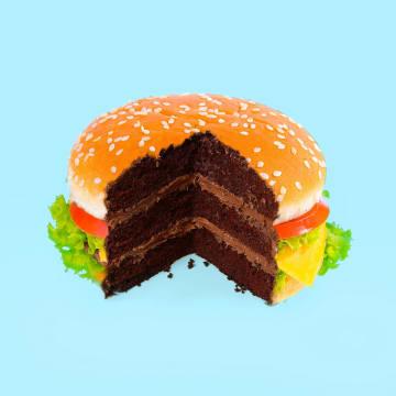 - chocolade-hamburger