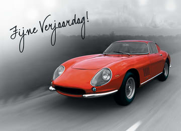 - kaart-liggend-zwart-wit-fijne-verjaardag-rode-auto
