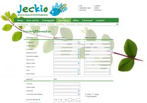 Aanmelden Jeckio