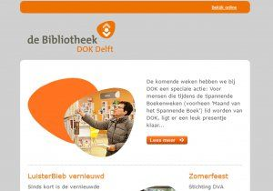 bibliotheek close up