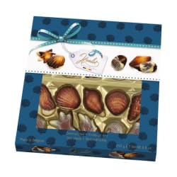 Chocolate shellfish 250 G img