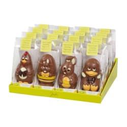 Chocolade holfiguur luxe zakje Pasen 55 G img