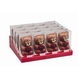 Chocolade holfiguur luxe doosje Beer 55 G img
