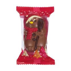 Chocolade holfiguur 'Snowy' 55 G img