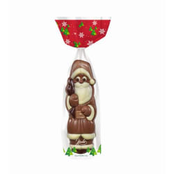 Chocolade holfiguur 'Kerstman' 125 G img