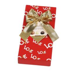 Assortiment chocolats belges avec nœud 'Love' 125 G img