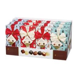 """Belgische Pralinen Geschenkverpackung """"Rudolph Line""""  250 G  img"""