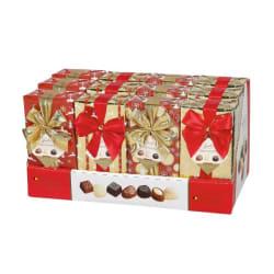 Ballotin Belgian chocolates 'Xmas Line' 250 G img