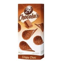 Tuiles au chocolat lait 80 G img