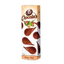 Tuiles au chocolat noisette 125 G img