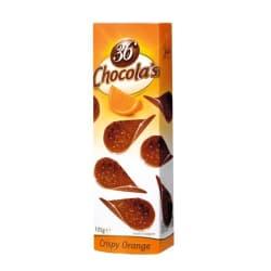 Chocolate thins orange 125 G img