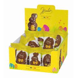 Chocolade holfiguur 'mix pasen' 50 g img