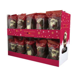 Chocolade holfiguur 'Etage' 55 G img