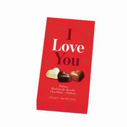 CHOCOLATE HEARTS I LOVE YOU 100 G img