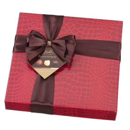 CARRE PRALINES ROOD 250G -1 710.00.0980 img
