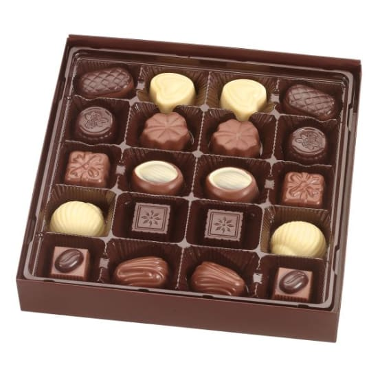 CARRE PRALINES ROOD 250G 3 710.00.0980 img