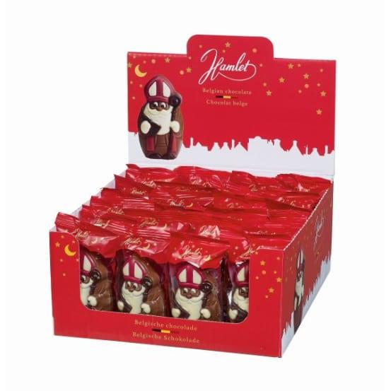 Chocolade holfiguur 'Sint '55 G-1 708.01.0107 img